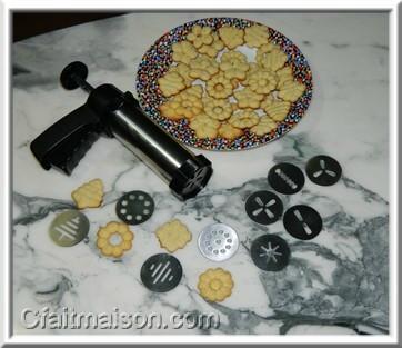 Recettes de biscuits pour presse à biscuits recette de biscuits